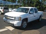 2011 Summit White Chevrolet Silverado 1500 LT Crew Cab #37225673