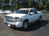 2008 Summit White Chevrolet Silverado 1500 LT Crew Cab #37225675