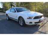 2011 Performance White Ford Mustang V6 Premium Coupe #37224993
