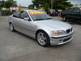 2003 Titanium Silver Metallic BMW 3 Series 330i Sedan #37225721