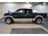 2011 Hunter Green Pearl Dodge Ram 1500 Laramie Crew Cab #37225199