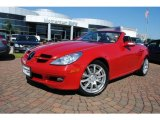 2005 Mercedes-Benz SLK Mars Red