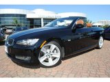 2009 Jet Black BMW 3 Series 335i Convertible #37225461