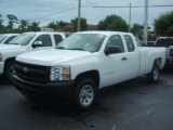 2011 Summit White Chevrolet Silverado 1500 Extended Cab #37225026