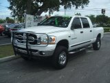2006 Bright White Dodge Ram 1500 SLT Mega Cab 4x4 #37225030
