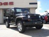 2011 Black Jeep Wrangler Sport 4x4 #37282774