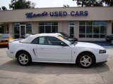 2002 Oxford White Ford Mustang V6 Convertible #37282683