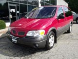 2000 Pontiac Montana Medium Red Metallic