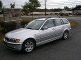 2003 Titanium Silver Metallic BMW 3 Series 325xi Wagon #37282697
