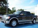 2010 Tuxedo Black Ford F150 Lariat SuperCrew #37282537