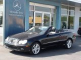 2007 Black Opal Metallic Mercedes-Benz CLK 350 Cabriolet #37283030