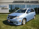 2005 Suzuki Aerio Ice Blue Metallic