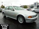 2000 Titanium Silver Metallic BMW 5 Series 528i Sedan #37321382
