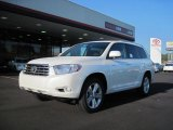2010 Blizzard White Pearl Toyota Highlander Limited #37322125