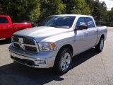 2011 Bright Silver Metallic Dodge Ram 1500 Big Horn Crew Cab #37322514