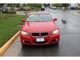 2009 Crimson Red BMW 3 Series 328i Sedan #37321419