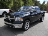 2011 Hunter Green Pearl Dodge Ram 1500 Big Horn Crew Cab #37322519