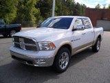 2011 Bright White Dodge Ram 1500 Laramie Crew Cab #37322520