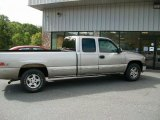 2000 Light Pewter Metallic Chevrolet Silverado 1500 LS Extended Cab 4x4 #37322522