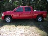 2008 Victory Red Chevrolet Silverado 1500 LT Crew Cab 4x4 #37322197