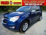 2010 Navy Blue Metallic Chevrolet Equinox LT #37322551