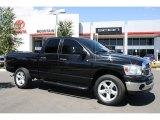 2007 Black Dodge Ram 1500 Thunder Road Quad Cab 4x4 #37321447
