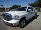 2008 Bright White Dodge Ram 1500 Lone Star Edition Quad Cab #37322562