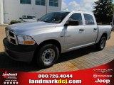 2010 Bright Silver Metallic Dodge Ram 1500 ST Crew Cab #37321845