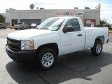 2011 Summit White Chevrolet Silverado 1500 Regular Cab #37322243