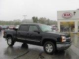2005 Black Chevrolet Silverado 1500 Z71 Crew Cab 4x4 #37322257