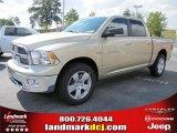2011 White Gold Dodge Ram 1500 Big Horn Crew Cab #37321869