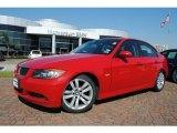 2007 Crimson Red BMW 3 Series 328i Sedan #37322270