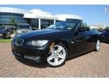 2009 Jet Black BMW 3 Series 335i Convertible #37322271