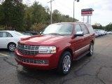 2007 Vivid Red Metallic Lincoln Navigator Ultimate 4x4 #37321882
