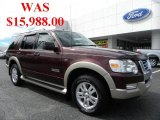 2006 Dark Cherry Metallic Ford Explorer Eddie Bauer #37321886