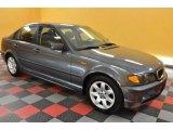 2002 Steel Grey Metallic BMW 3 Series 325i Sedan #37322284