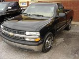 2000 Onyx Black Chevrolet Silverado 1500 Regular Cab #3732052