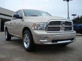 2011 White Gold Dodge Ram 1500 Big Horn Quad Cab 4x4 #37322335