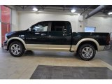 2011 Hunter Green Pearl Dodge Ram 1500 Laramie Crew Cab #37321953