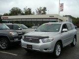 2010 Classic Silver Metallic Toyota Highlander Hybrid Limited 4WD #37321973