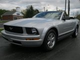 2007 Tungsten Grey Metallic Ford Mustang V6 Deluxe Convertible #37322862