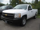 2011 Summit White Chevrolet Silverado 1500 Regular Cab 4x4 #37322404