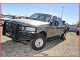2003 Arizona Beige Metallic Ford F250 Super Duty XLT Crew Cab 4x4 #37322028