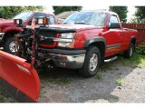2004 Victory Red Chevrolet Silverado 1500 Z71 Regular Cab 4x4 #37322891