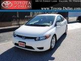 2007 Taffeta White Honda Civic LX Coupe #37321704