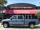 2006 Stealth Gray Metallic GMC Sierra 2500HD SLE Crew Cab 4x4 #37321725
