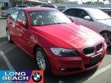 2009 Crimson Red BMW 3 Series 328i Sedan #37423867