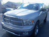 2010 Light Graystone Pearl Dodge Ram 1500 Big Horn Crew Cab 4x4 #37423615