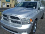 2011 Bright Silver Metallic Dodge Ram 1500 Sport Quad Cab 4x4 #37423616
