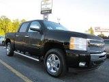 2011 Black Chevrolet Silverado 1500 LT Crew Cab 4x4 #37423883